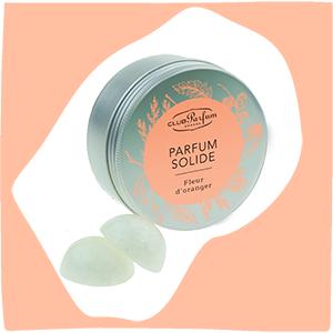 Vignette Parfum Solide Fleur d'Oranger